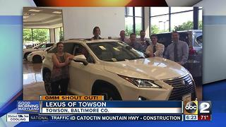 Good morning from Lexus of Towson - Video