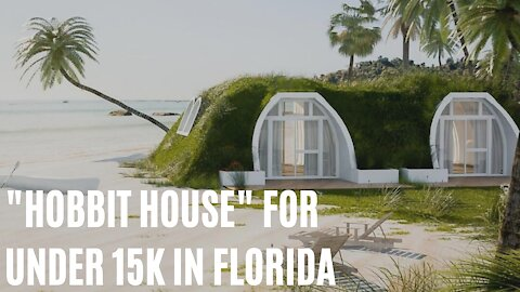"""You Can Live In An Adorable """"Hobbit House"""" For Under 15K In Florida"""