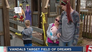 Vandals Force Closure Of Field of Dreams Park - Video
