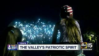 Tempe Town Lake popular spot for 4th of July - Video