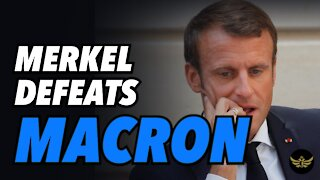 Macron humiliated and defeated by Merkel post Brexit