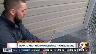 Keeping your pipes healthy as temperatures drop - Video