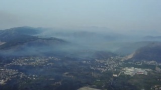 Devastating Wildfire Reaches Split's Suburbs - Video