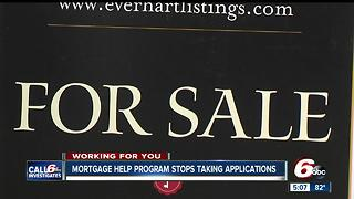 Mortgage Program Stops Taking Applications Amid Funding Trouble - Video