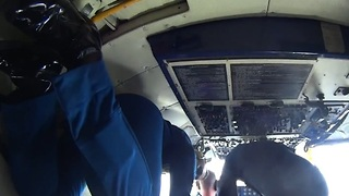 Cockpit View During 'Zero G' Conditions - Video