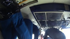 Cockpit View During 'Zero G' Conditions