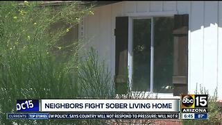 Neighbors taking action against Scottsdale sober living home - Video