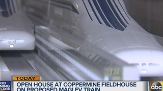 Open house for proposed Maglev train - Video