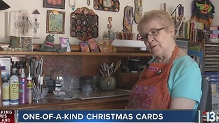 Woman pursues dreams of selling cards in local shop