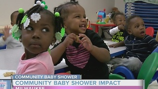 TODAY'S TMJ4's Community Baby Shower's impact on Milwaukee day care - Video