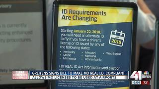 Missouri governor signs Real ID bill