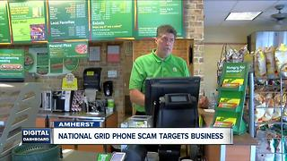 Amherst business confronts phone scammers - Video