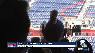 FAU Coaches Caravan - Video
