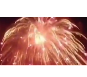 'World's Largest' Firework Explodes Over Emirates Island During New Year's Celebrations - Video
