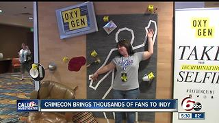 CrimeCon brings thousands of fans to Indy - Video