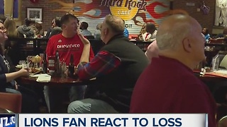 Lions fans react to loss - Video
