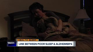 Study suggests link between poor sleep and Alzheimer's - Video