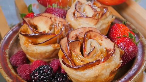 Delicious recipes: Apple roses!