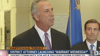 Clark County launches Warrant Wednesdays - Video