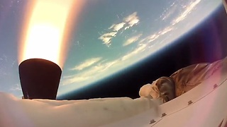 HD footage of NASA's supersonic