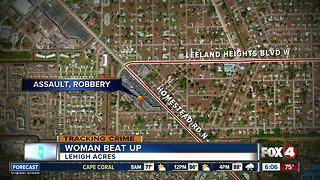 Woman robbed, beat up in Lehigh Acres - Video