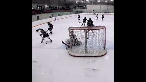 9-year-old hockey phenom scores insanely ridiculous goal
