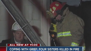 First responders coping with grief after four sisters killed in Carroll County fire - Video