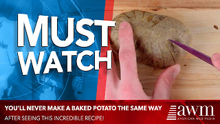 After Seeing This Way To Make A Baked Potato, I'll Never Make It Any Other Way Again - Video