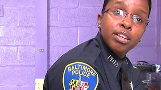Sgt. Alicia White talks about her return to the Baltimore Police department - Video