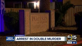Arrest made in double Phoenix murder - Video