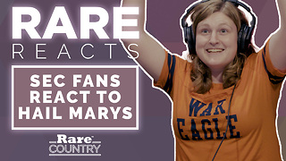 SEC Fans React to Hail Marys | Rare Reacts - Video