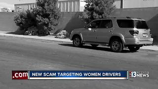 New scam targets woman driving on Las Vegas roads - Video