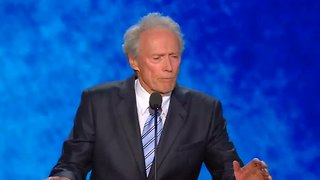 Clint Eastwood makes Trump's day - Video