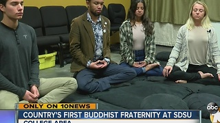 Country's first Buddhist fraternity at SDSU - Video