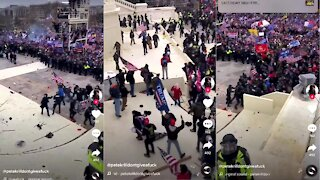 Trump Supporters Breaks Through Barricades, Clash with DC Police at US Capitol