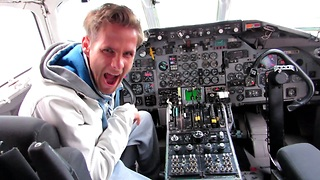 Airplane Intruder Funny  - Video