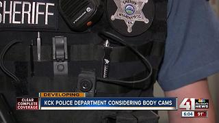 KCKPD requesting body cameras, but not sure on policies - Video