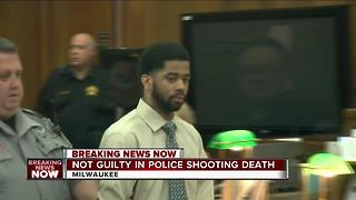 Ex-officer found not guilty in Sherman Park homicide trial - Video