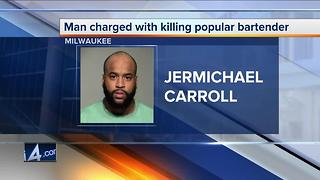 Man charged in murder of popular bartender - Video
