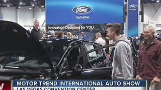 Motor Trend auto show cruises into Las Vegas - Video