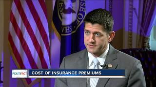 PolitiFact Wisconsin: Cost of insurance premiums - Video