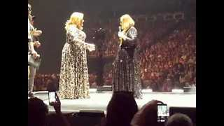 Adele Invites 'Drag Adele' on Stage - Video