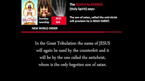 NEW WORLD ORDER The Mark of the Beast 666 - What is it?