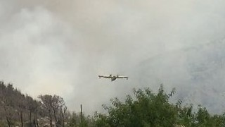 Firefighting Aircraft Mobilized as Wildfires Rage in Southern Croatia - Video