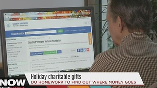 Holiday charitable giving - Video