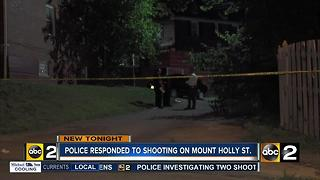 Mount Holly Street fatal shooting - Video