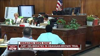 Jury deliberations continue tomorrow in Heaggan-Brown trial - Video