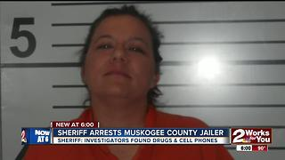 Sheriff arrests Muskogee County jailer - Video