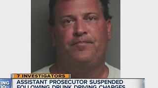 Assistant prosecutor suspended following drunk driving charges - Video