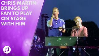 Everything to know about Coldplay's lucky fan pianist - Video